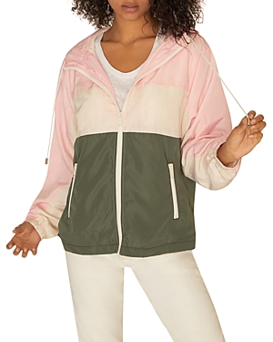 Sanctuary Jackets COLOR-BLOCK WINDBREAKER JACKET
