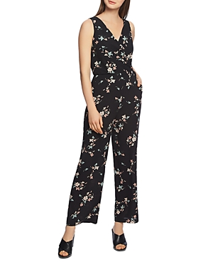 1.state Belle Sleeveless Floral Jumpsuit