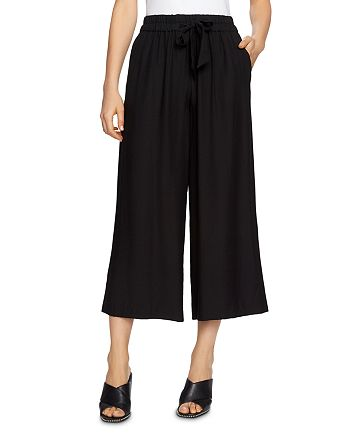 1.STATE - Cropped Wide-Leg Drawstring Pants