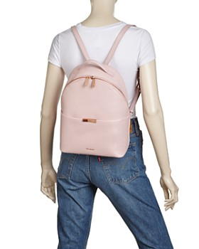 Ted Baker - Jenyy Bow Leather Backpack