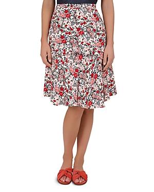 Gerard Darel Iris Floral-Print Skirt