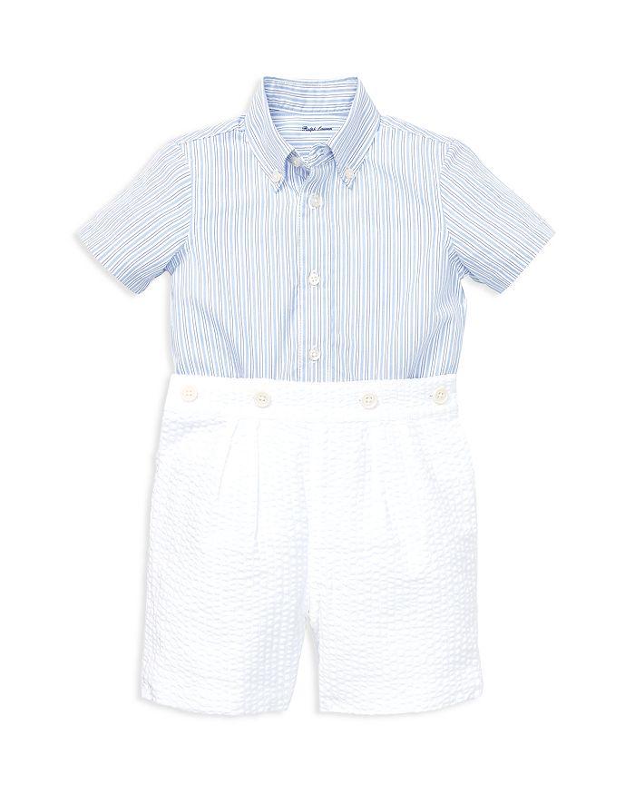 Ralph Lauren - Boys' Mesh Polo & Twill Shorts Set - Baby