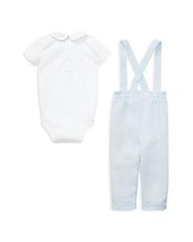 Ralph Lauren - Boys' Bodysuit & Linen Overall Set - Baby