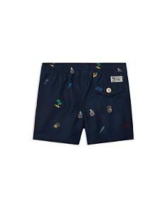 Ralph Lauren - Boys' Traveler Print Swim Trunks - Baby