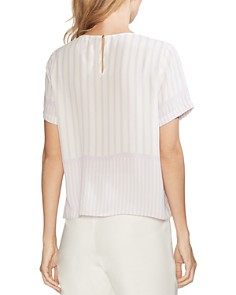 VINCE CAMUTO - Mixed Print Top