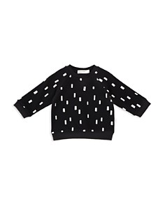 Miles Child - Unisex Organic-Cotton Confetti Print Sweatshirt - Little Kid