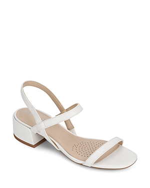 Kenneth Cole Sandals WOMEN'S MAISIE SLINGBACK BLOCK-HEEL SANDALS