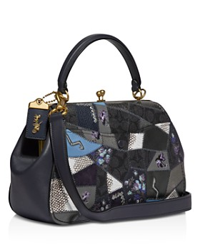 ... COACH - Coach 1941 Signature Patchwork Frame Shoulder Bag - 100%  Exclusive 001f859f07e9b
