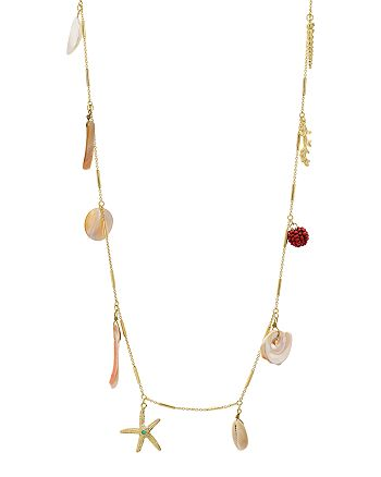 "AQUA - Sea Life Station Necklace, 35"" - 100% Exclusive"