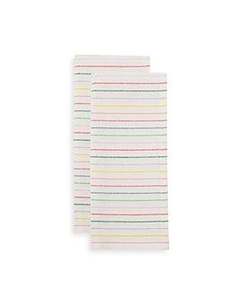 kate spade new york - Artisan Stripe Kitchen Towel Set, 2-Pack