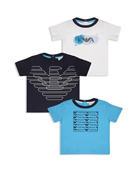 Armani - Boys' 3-Piece Logo Tee Set - Baby
