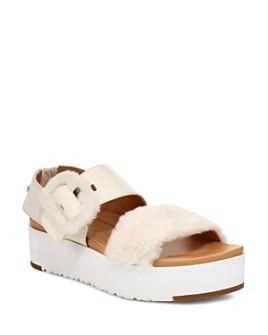 UGG® - Women's Le Fluff Platform Sandals