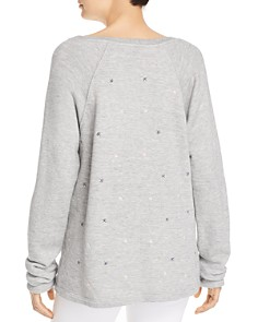 Splendid - x Gray Malin Parasol Embroidered Sweatshirt