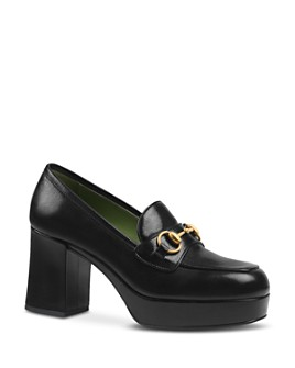 Gucci - Women's Horsebit Platform Loafers