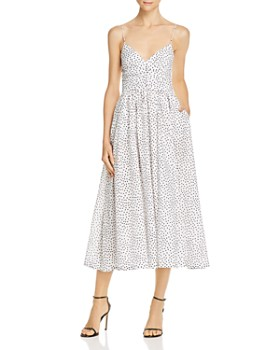Bec & Bridge - Miss Frenchie Dotted Midi Dress