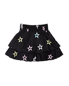 Flowers by Zoe - Girls' Star Tiered-Ruffle Skirt - Big Kid