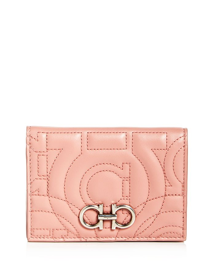 Salvatore Ferragamo - Gancini-Quilted Leather Bi-Fold Wallet