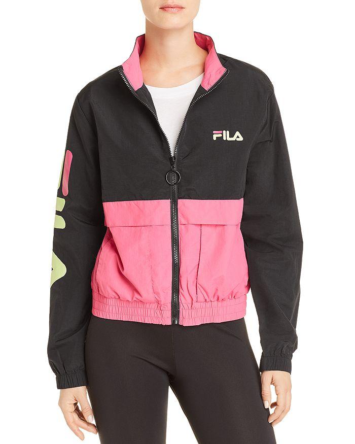 e3569b07a003 FILA Miguela Color-Block Track Jacket | Bloomingdale's