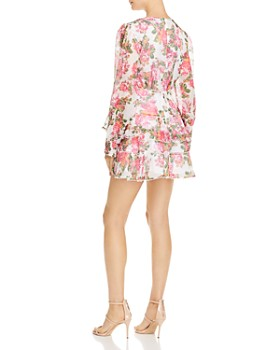 Keepsake - Oblivion Tiered Floral Mini Dress