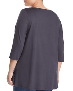 Eileen Fisher Plus - Three-Quarter Sleeve Tee