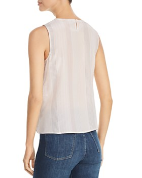 4ae692acc0689d ... Eileen Fisher - Sleeveless Striped Silk Top - 100% Exclusive