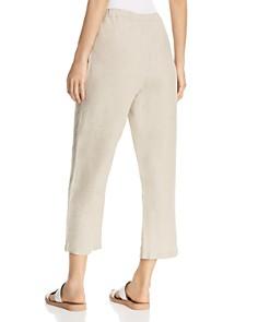 Eileen Fisher Petites - Organic Linen Cropped Pants
