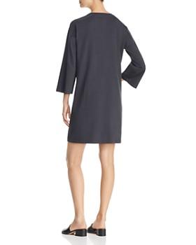 Eileen Fisher - Bracelet-Sleeve Shift Dress