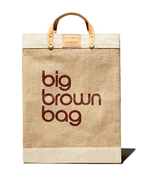 APOLIS - Big Brown Bag Market Bag - 100% Exclusive
