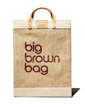 APOLIS - Big Brown Bag Market Bag - 100% Exclusive