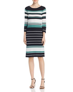 836d530c4d0 BOSS - Elsara Multi-Stripe Sweater Dress ...