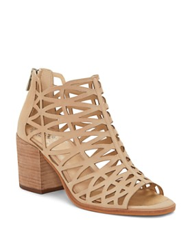 b94a6eeed9a VINCE CAMUTO - Women s Kevston Cutout Bootie Sandals ...