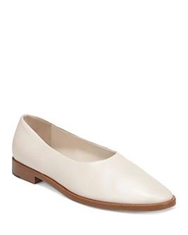 Via Spiga - Women's Paloma Leather Flats