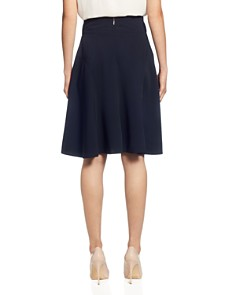 T Tahari - Button-Tab A-Line Skirt