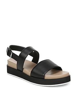 Via Spiga - Women's Davi Leather Platform Sandals