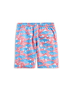 Vineyard Vines - Boys' Swimming With The Fish Chappy Swim Shorts - Little Kid, Big Kid
