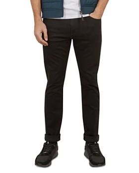 Ted Baker - Kanyae Straight Fit Jet in Black Jean
