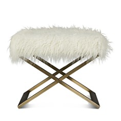Bloomingdale's - Furry Bench