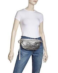 Rebecca Minkoff - Bree Metallic Belt Bag