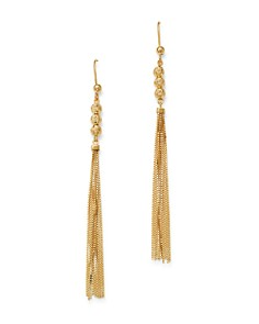 Bloomingdale's - Tassel Drop Earrings in 14K Yellow Gold - 100% Exclusive