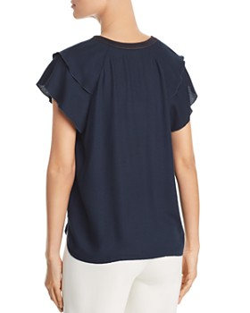 Scotch & Soda - Tiered-Sleeve Top
