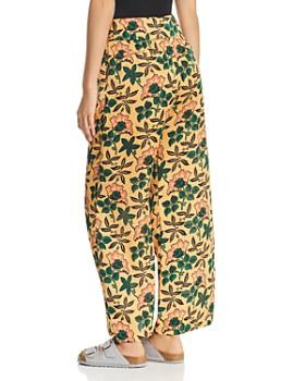 Scotch & Soda - Floral-Print Wide Leg Pants