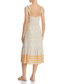 Lost and Wander - Marilyn Floral-Print Midi Dress