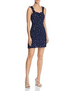 AQUA - Polka Dot Mini Dress - 100% Exclusive