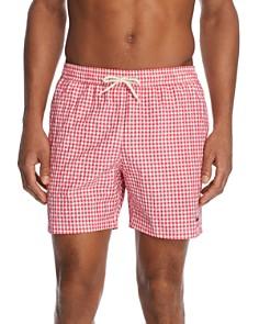 Barbour - Gingham Swim Shorts