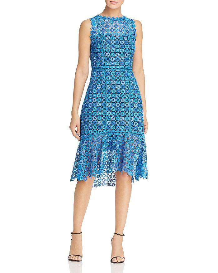 Elie Tahari - Breanna Sleeveless Lace Dress