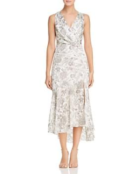 Elie Tahari - Brittney Sleeveless Floral Midi Dress
