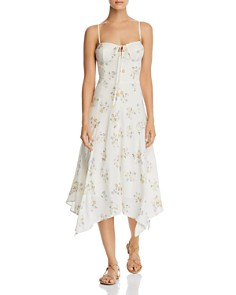 WAYF - Hampshire Handkerchief Midi Dress