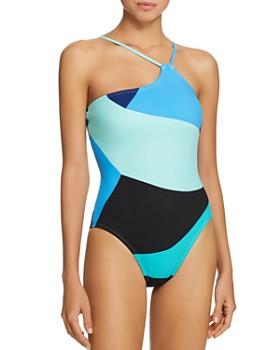La Blanca - Sips & Slices One-Shoulder One Piece Swimsuit