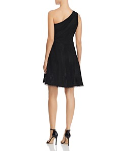 Adelyn Rae - Londyn One-Shoulder Lace Dress