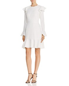 Jay Godfrey - Mae Flounced Cutout Dress